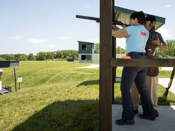 The Five Stand at Halter Shooting Range