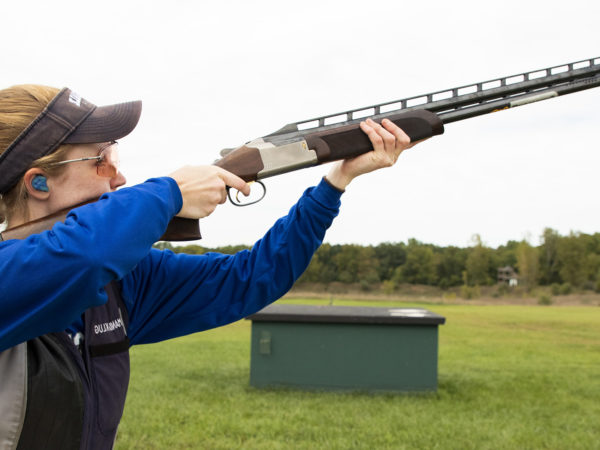 The Hillsdale College Halter Sports Shooting Education Center in Hillsdale, MI on September 27, 2018.